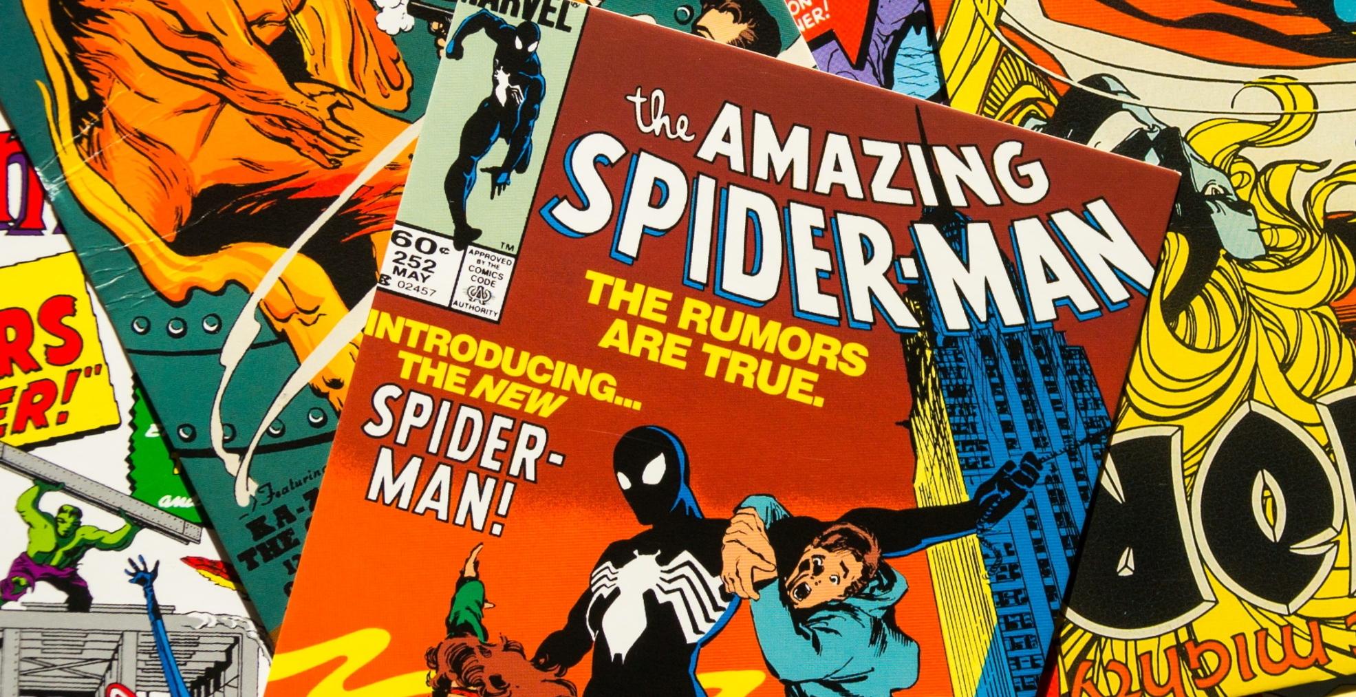 Comics de sipiderman destacada