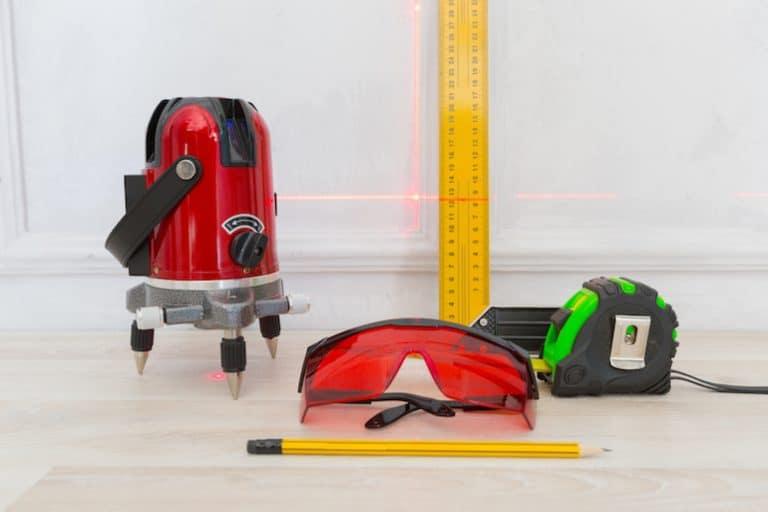 medidor laser y accesorios