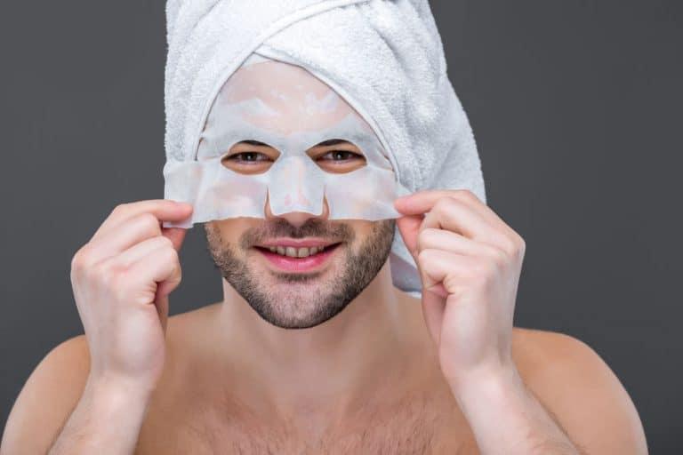 hombre con mascarilla