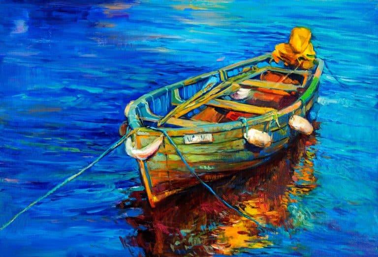 barco anclado