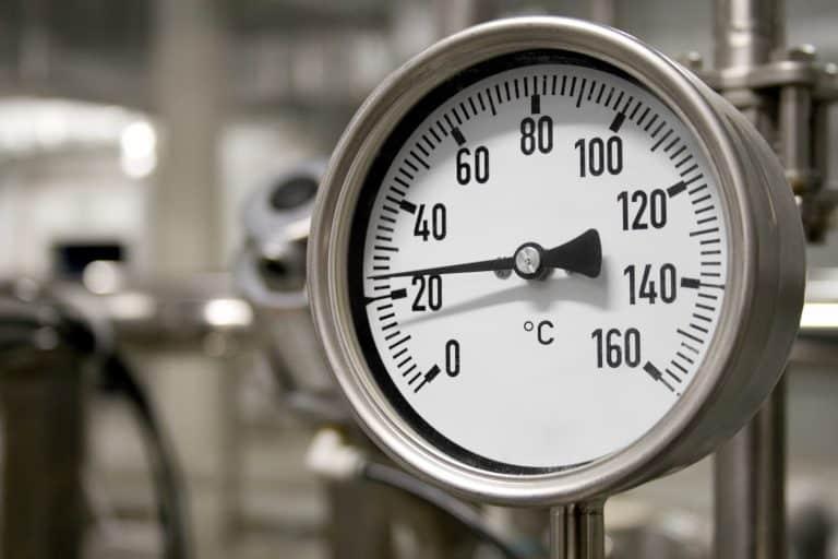 Higrómetro industrial