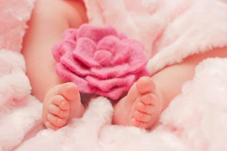 Pies de bebé