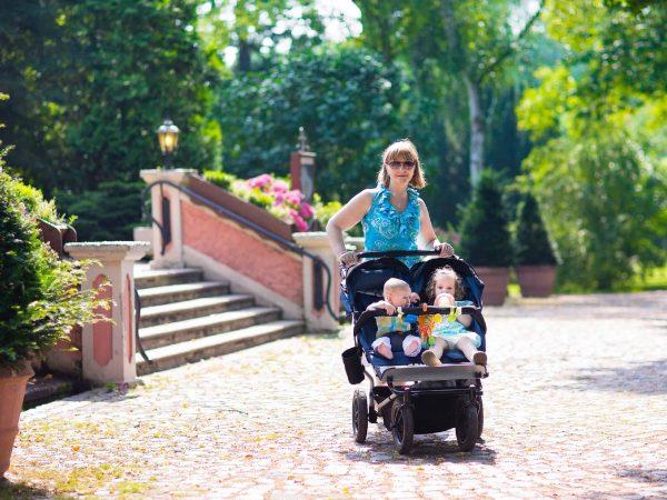 Mamás con dos hijos