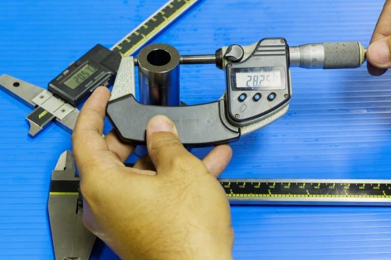 micrómetro para trabajo