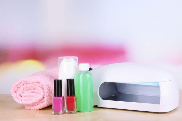 Lámpara de uñas y otros accesorios