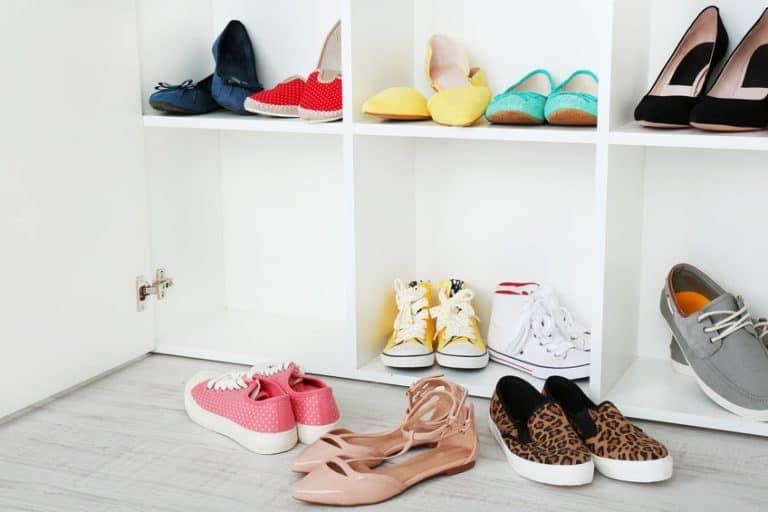 Variedad de calzado