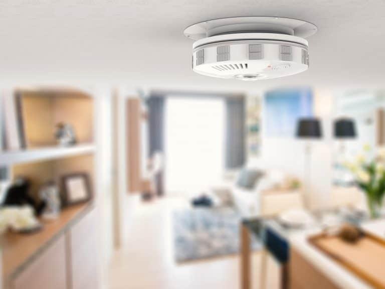 Detector de humo en la cocina