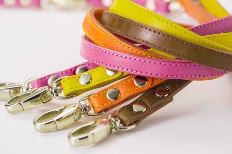 Varias correas de muchos colores