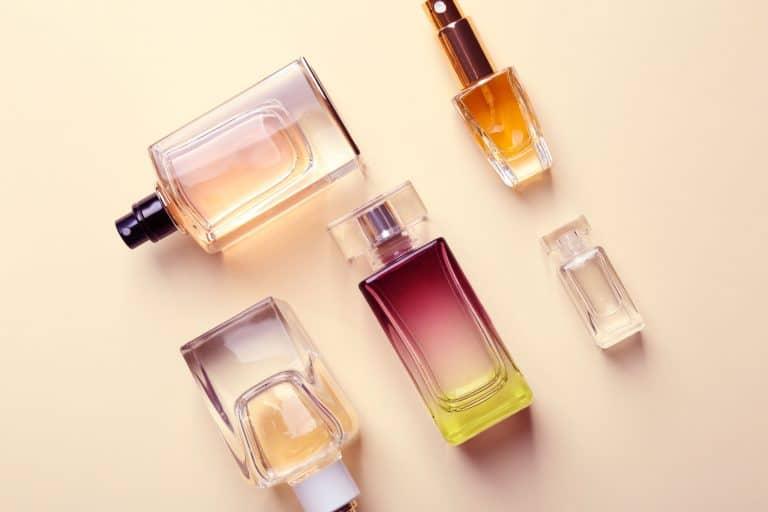 Distintos perfumes de mujer