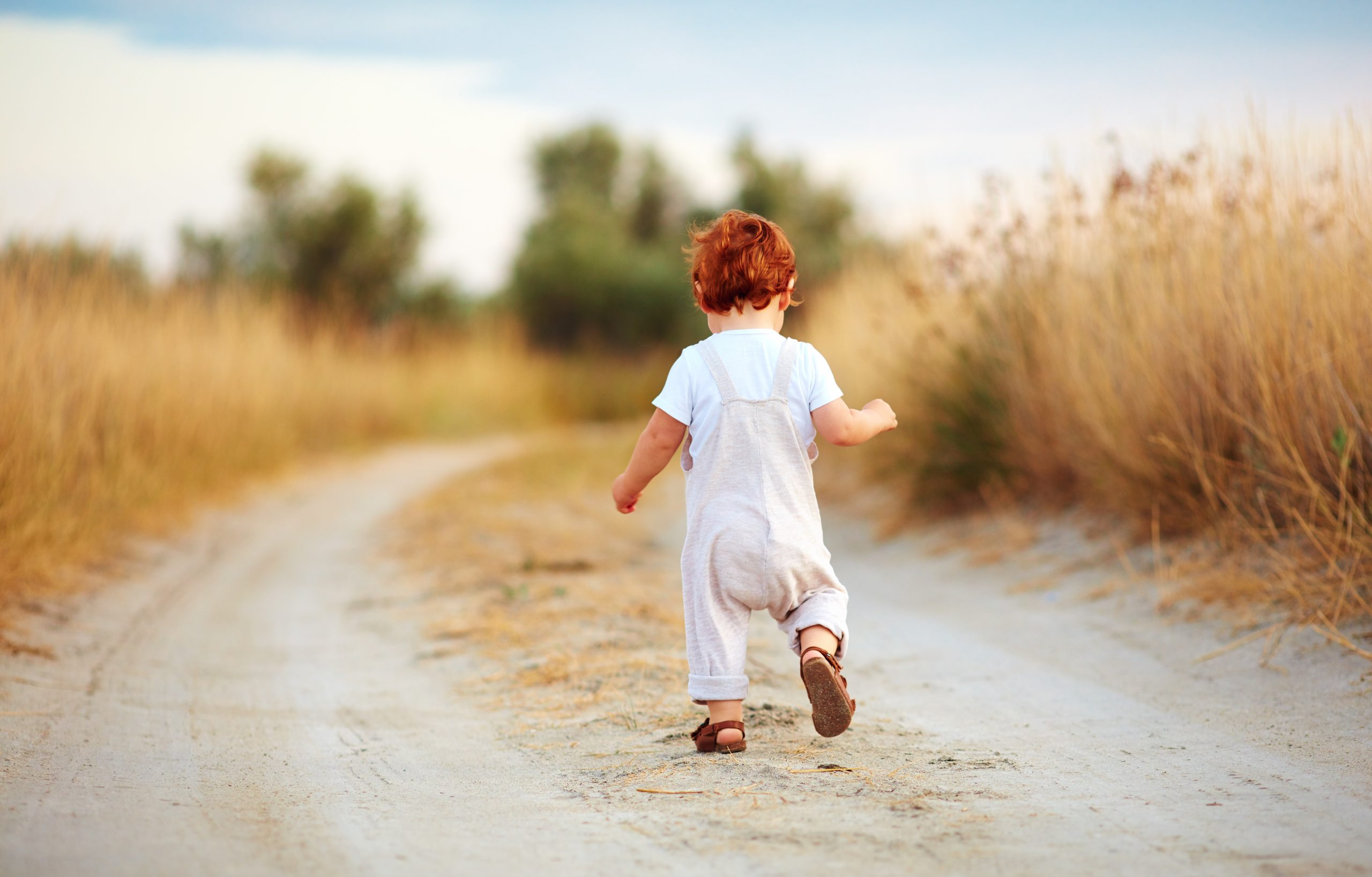 Niño corriendo