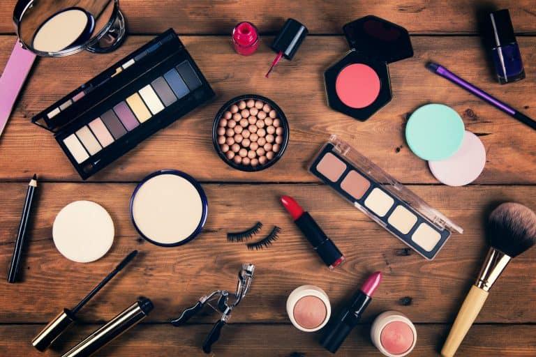 Variedad de cosméticos