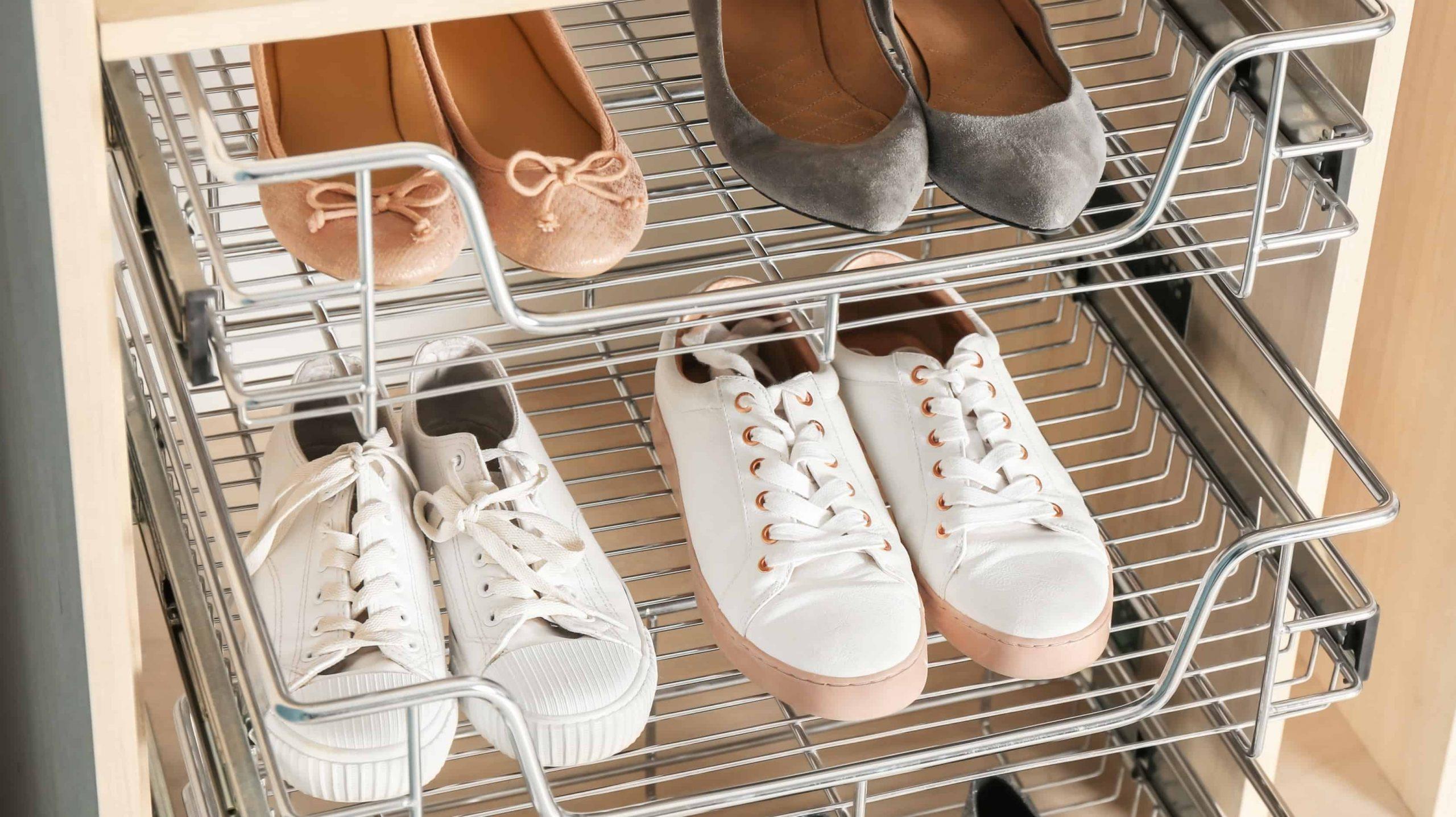 Zapatero Organizador de Zapatos Soporte para Zapatos de Tela 5 Estanter/ías y Tapa con Resistente al Polvo