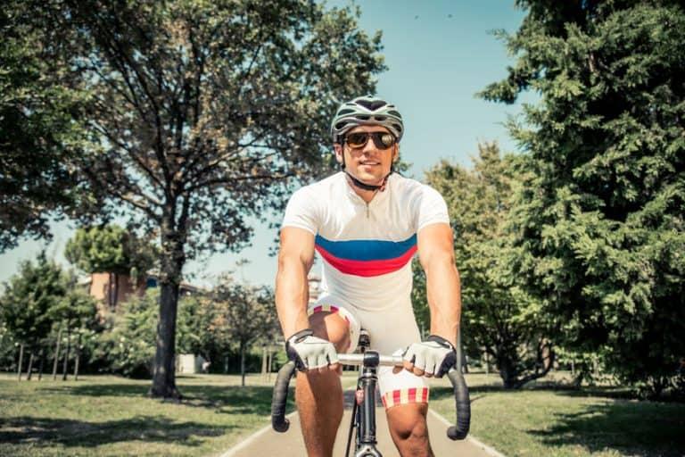 Atleta de ciclismo en ruta