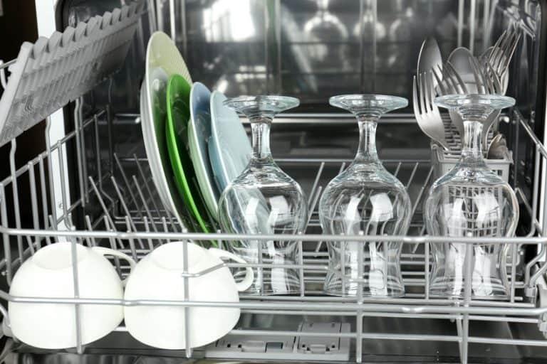Copas en lavavajillas
