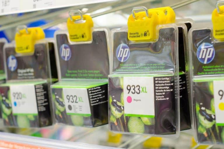 Cartuchos de impresora HP