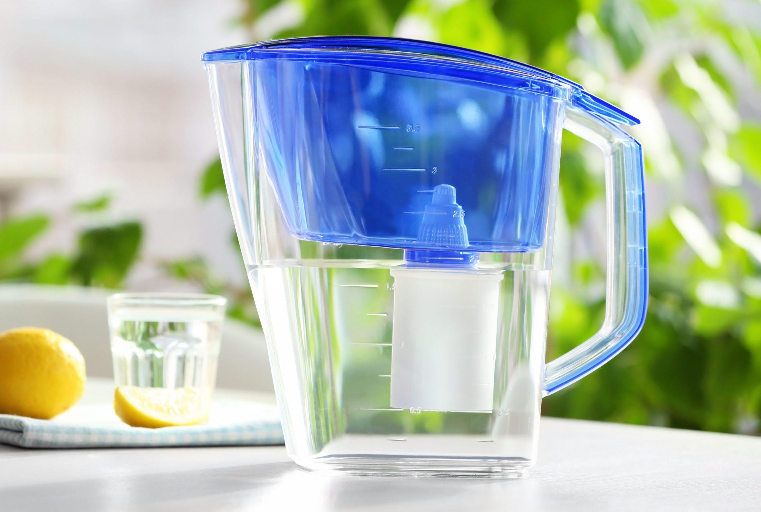 Purificador de agua de jarra