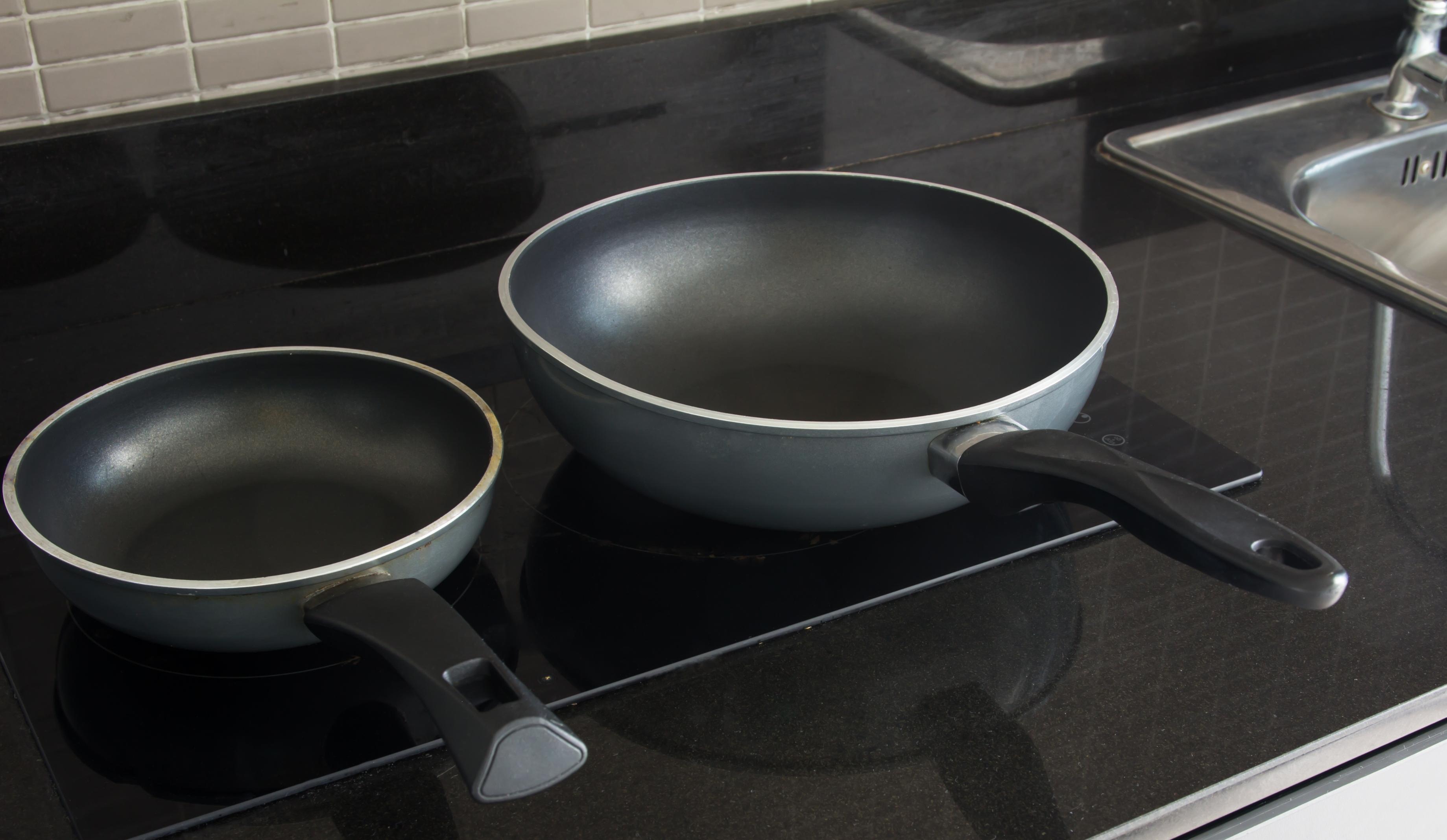 Sartenes ara inducción en cocina