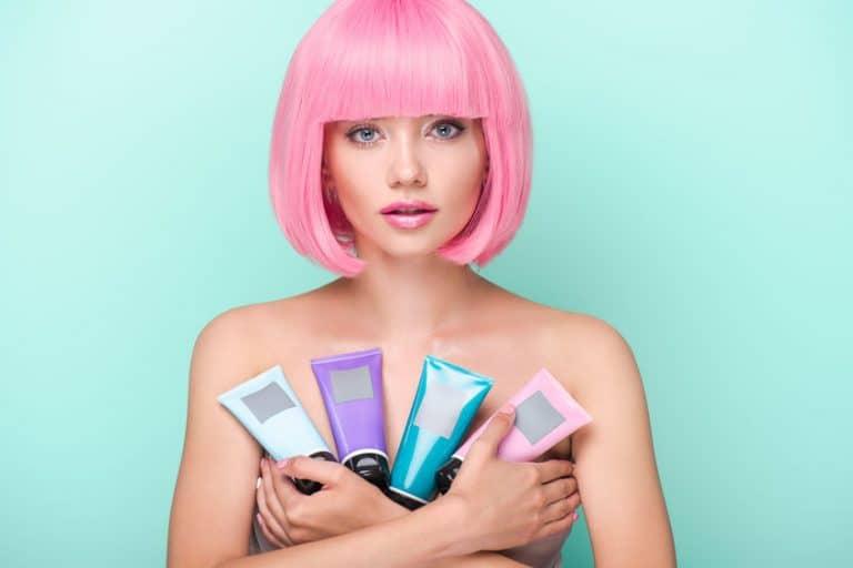 Variedad de tintes para cabello