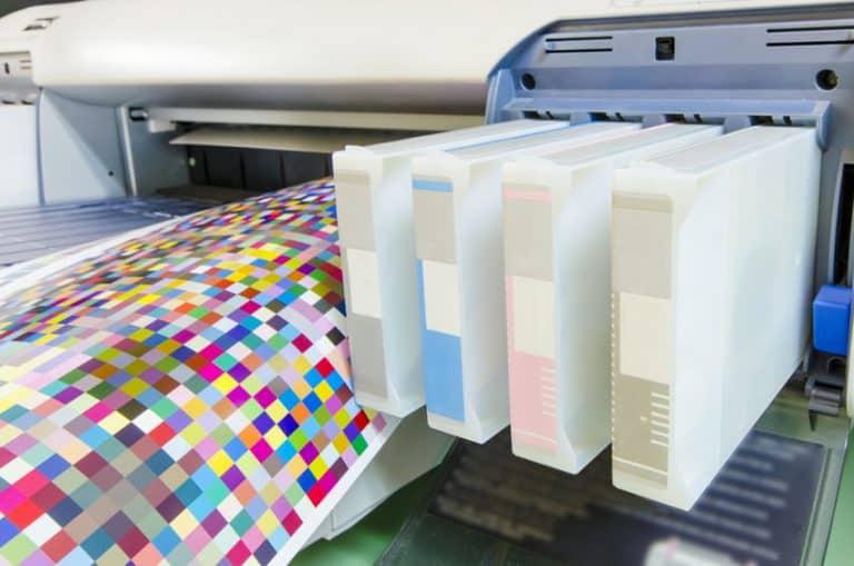 Sistema de tinta de chorro en impresora