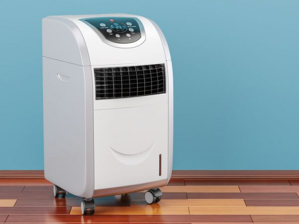 Maquina de aire acondicionado apagada