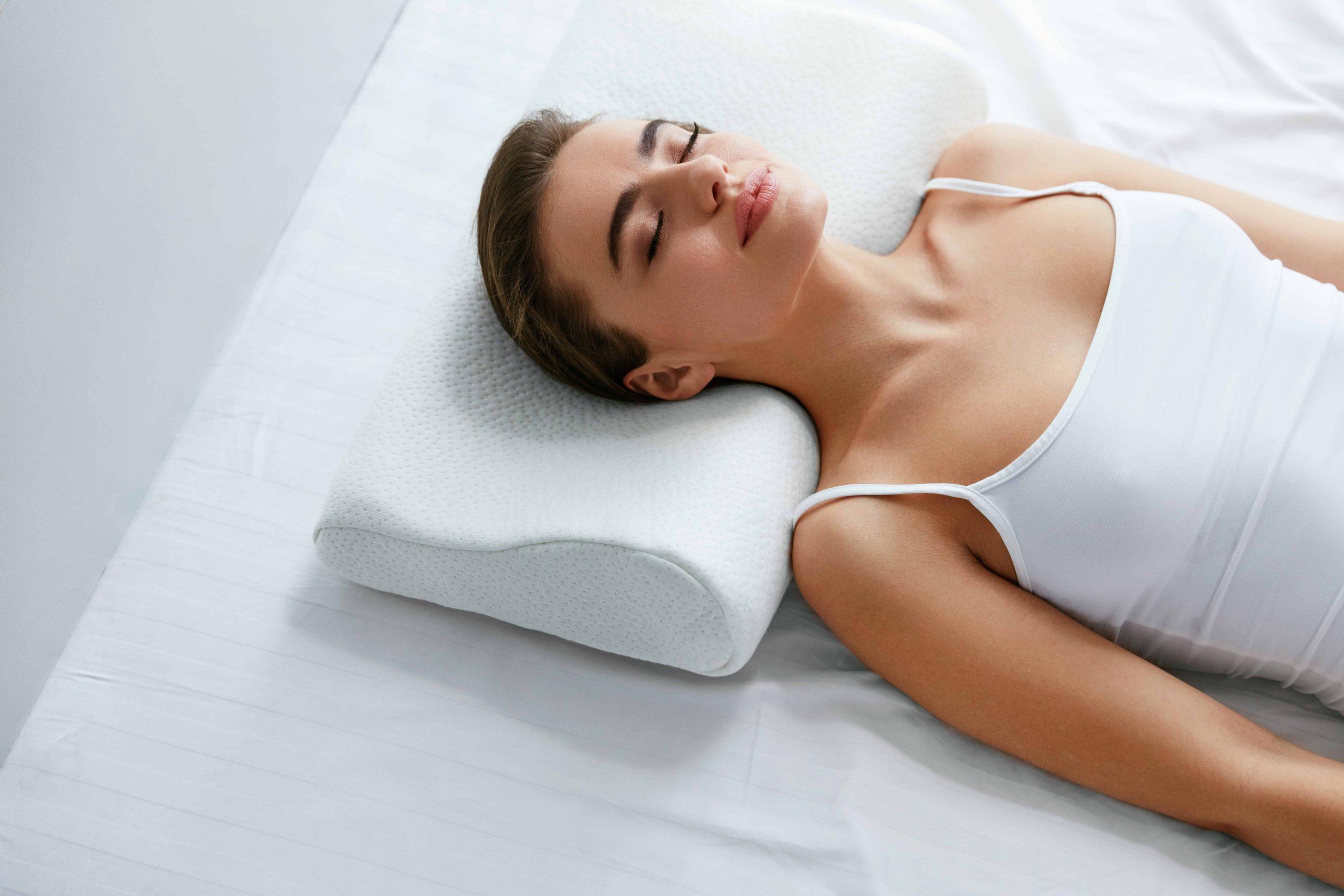 Almohada cervical y almohada para el cuello para dormir Ayuda terapéutica médica
