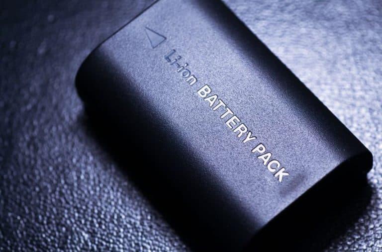 Una batería de litio