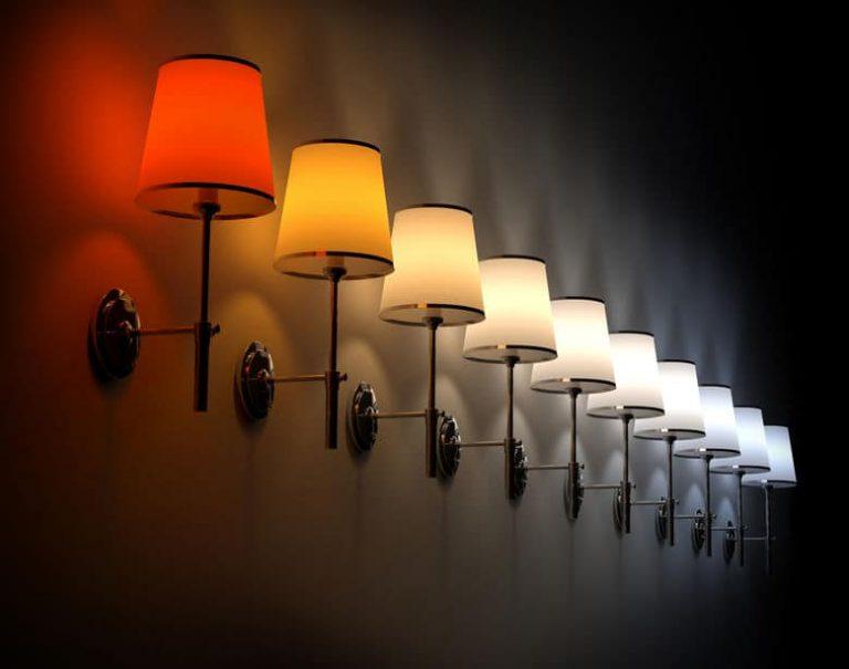 luz de colores