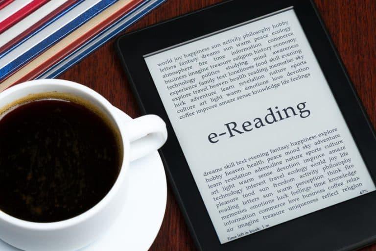 EBook con café