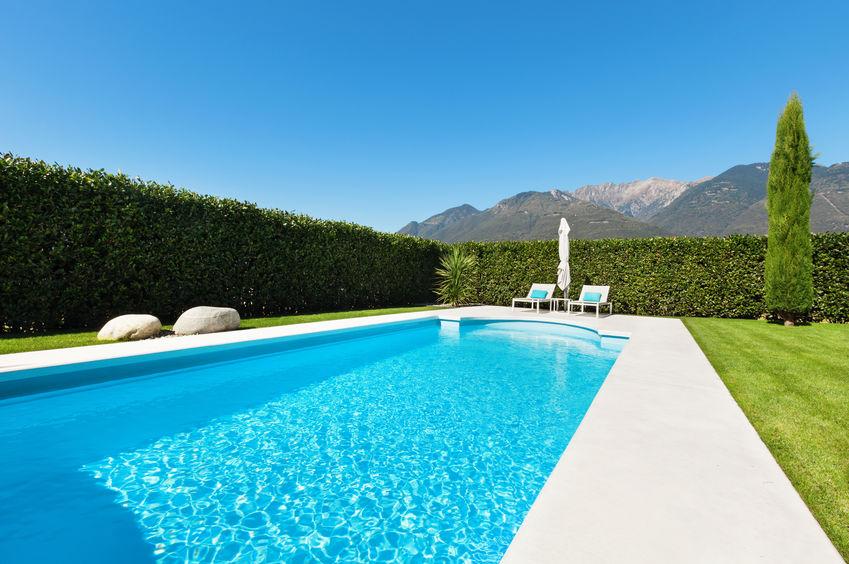 piscina de montaña