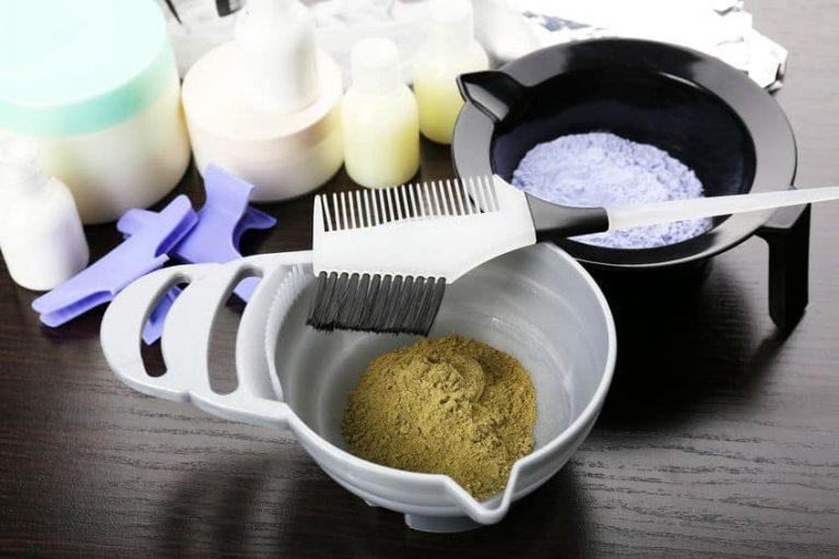 Materiales para tenir cabello