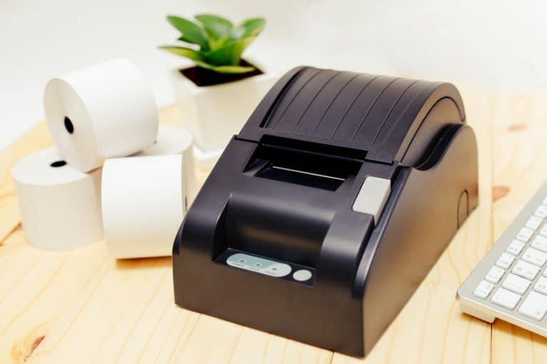 Impresora sobre mesa