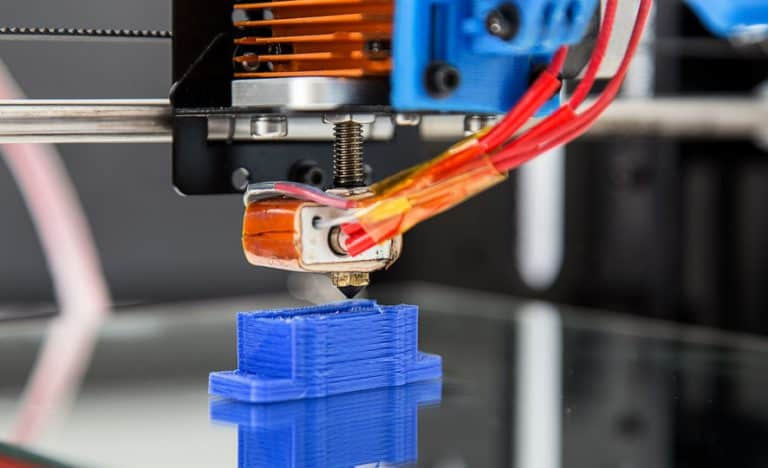 Parte exterior de impresora 3D