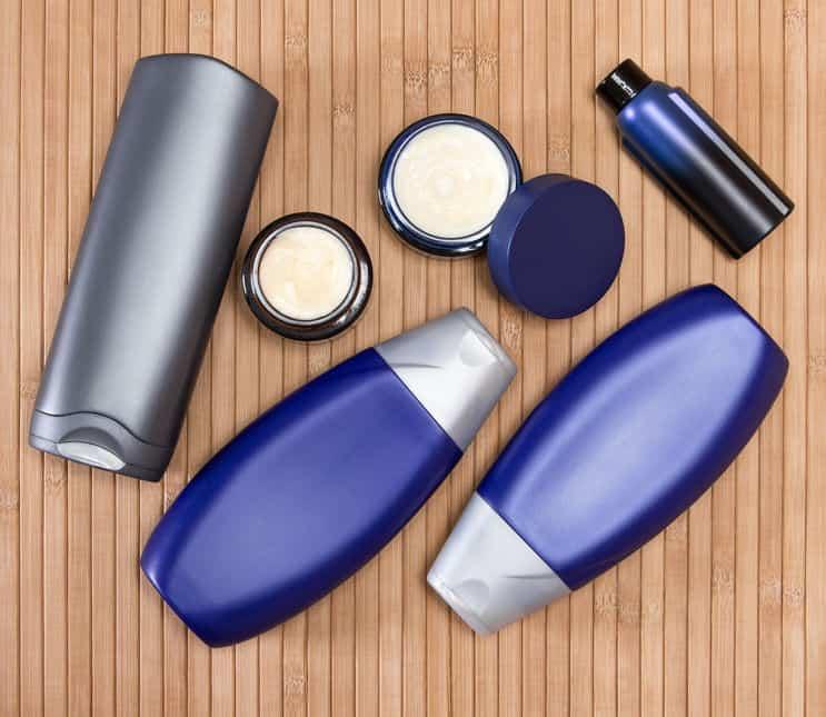 Varios productos de belleza
