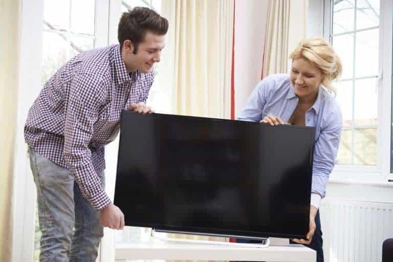 Modificando espacio de TV