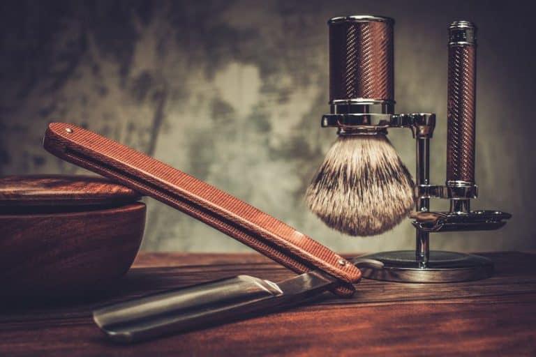 Ejemplo de navaja para afeitar