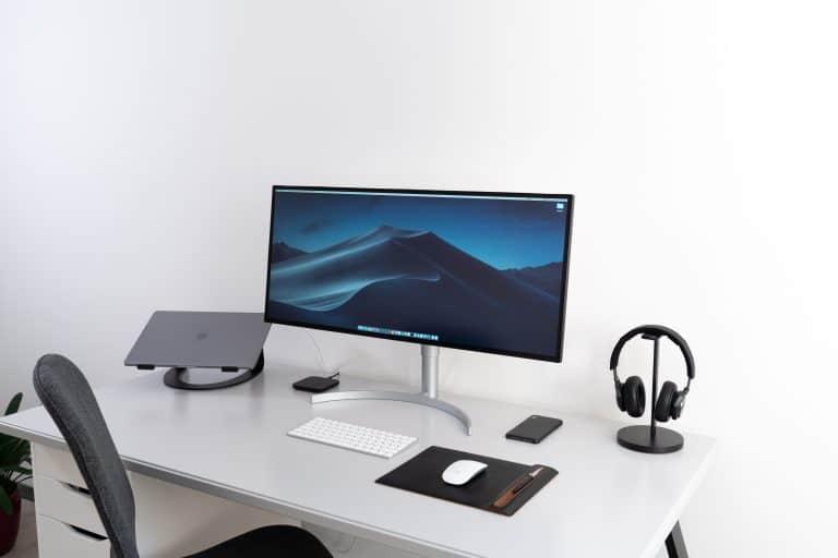 Monitor en habitación