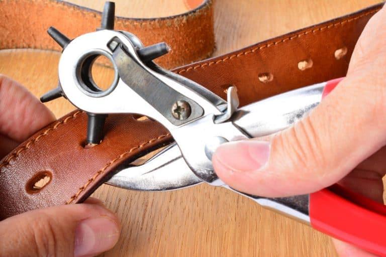 Elaboración de cinturón