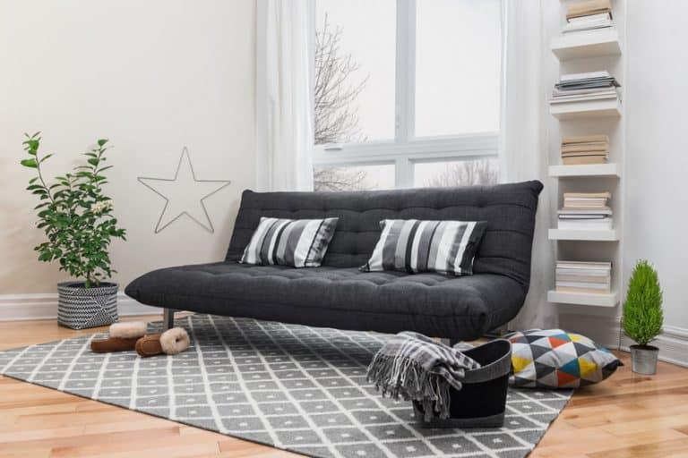 Sofá cama negro