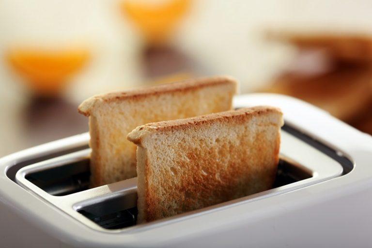 Tostadas de pan blanco