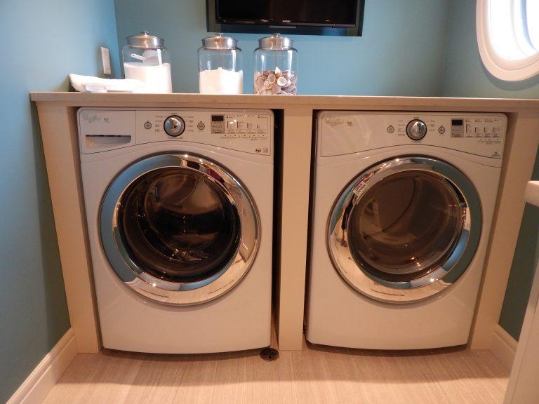 secadora en cuarto pequeño