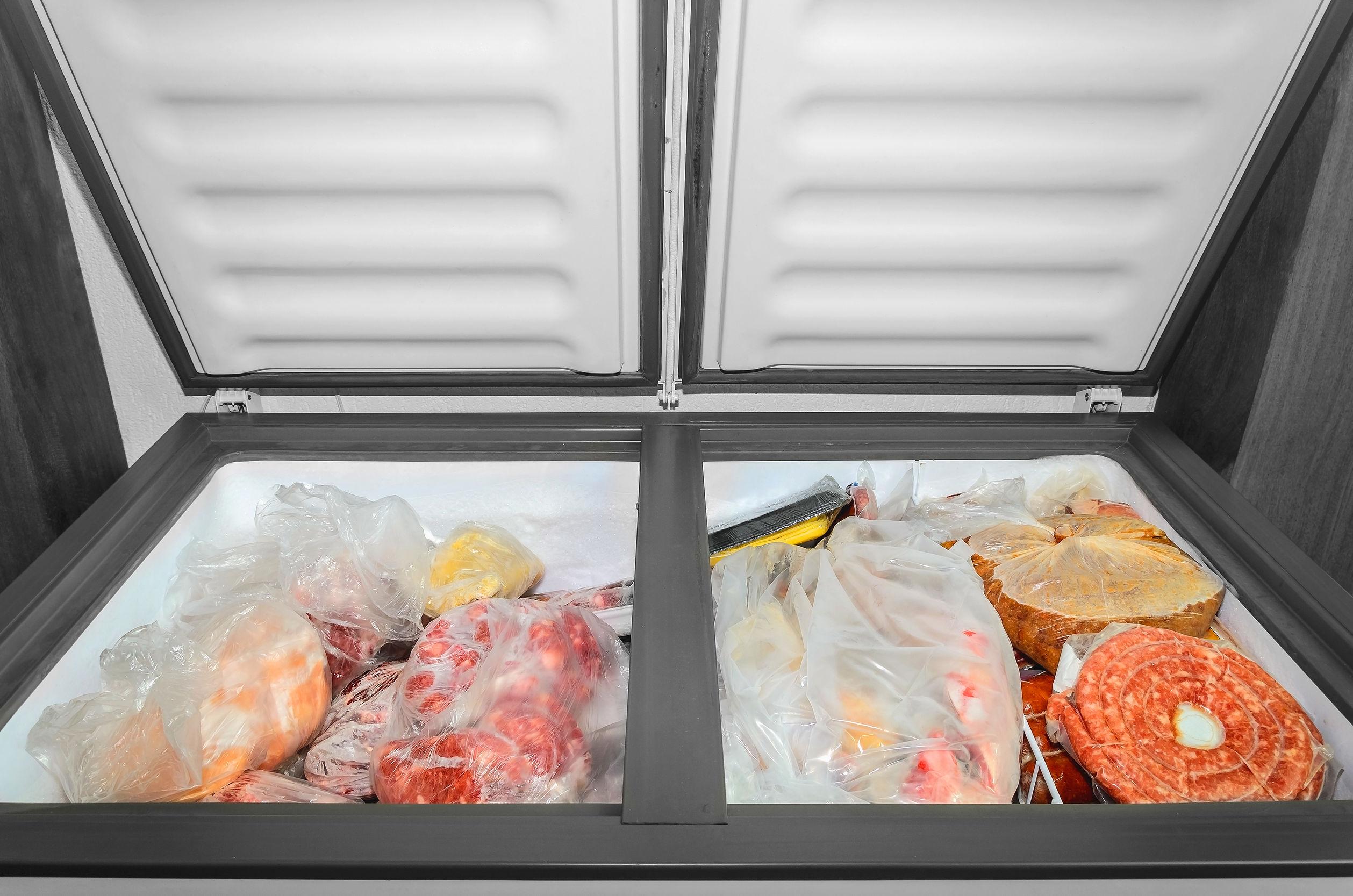congelador abierto