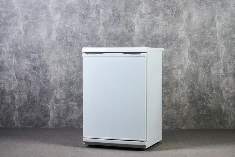 Refrigerador en primer plano