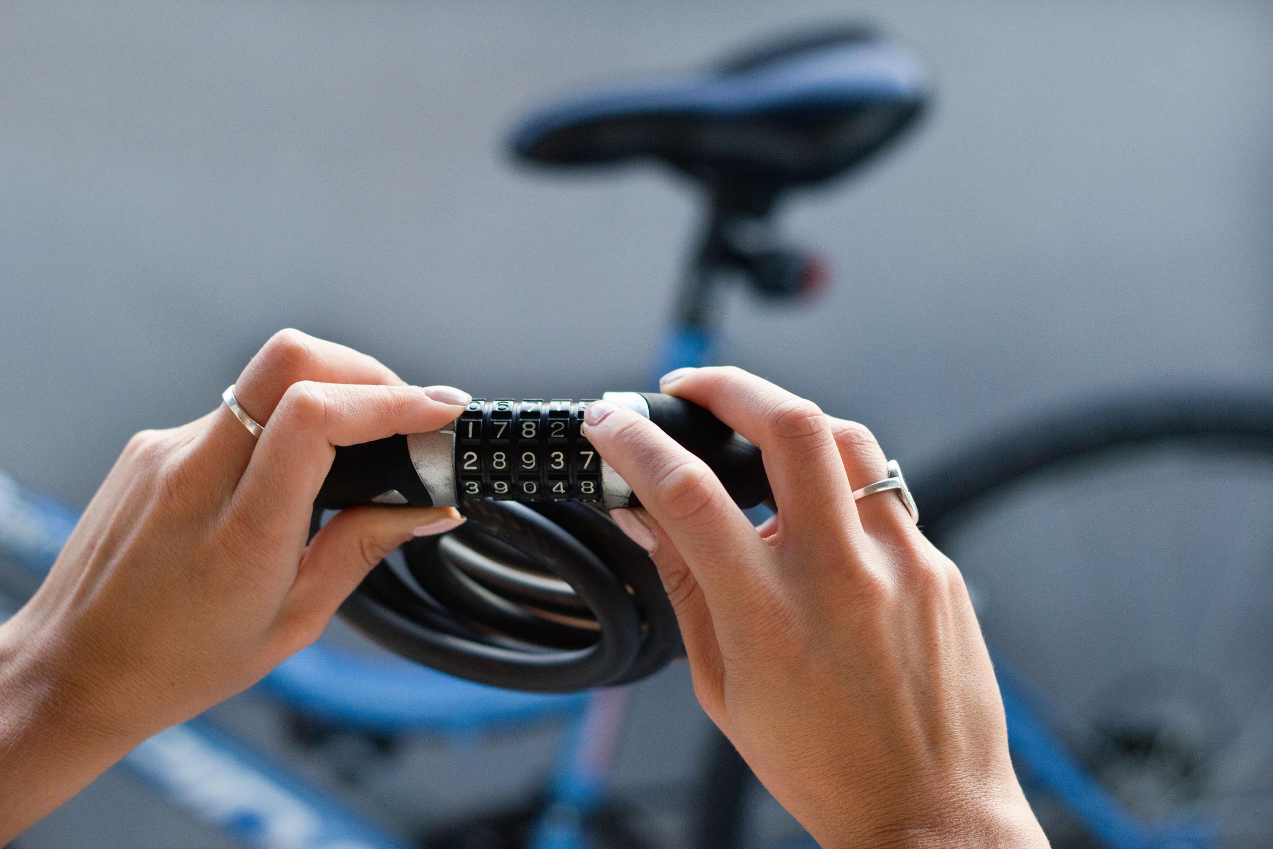Candado para bicicleta