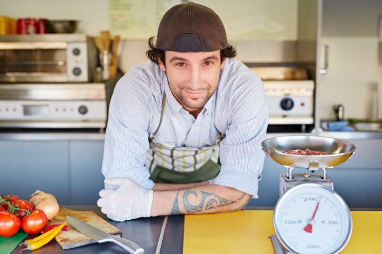 Chef sonriendo
