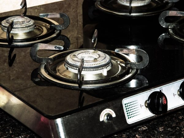 20655673 – used gas burners in kitchen   modern kitchen has them to cook food