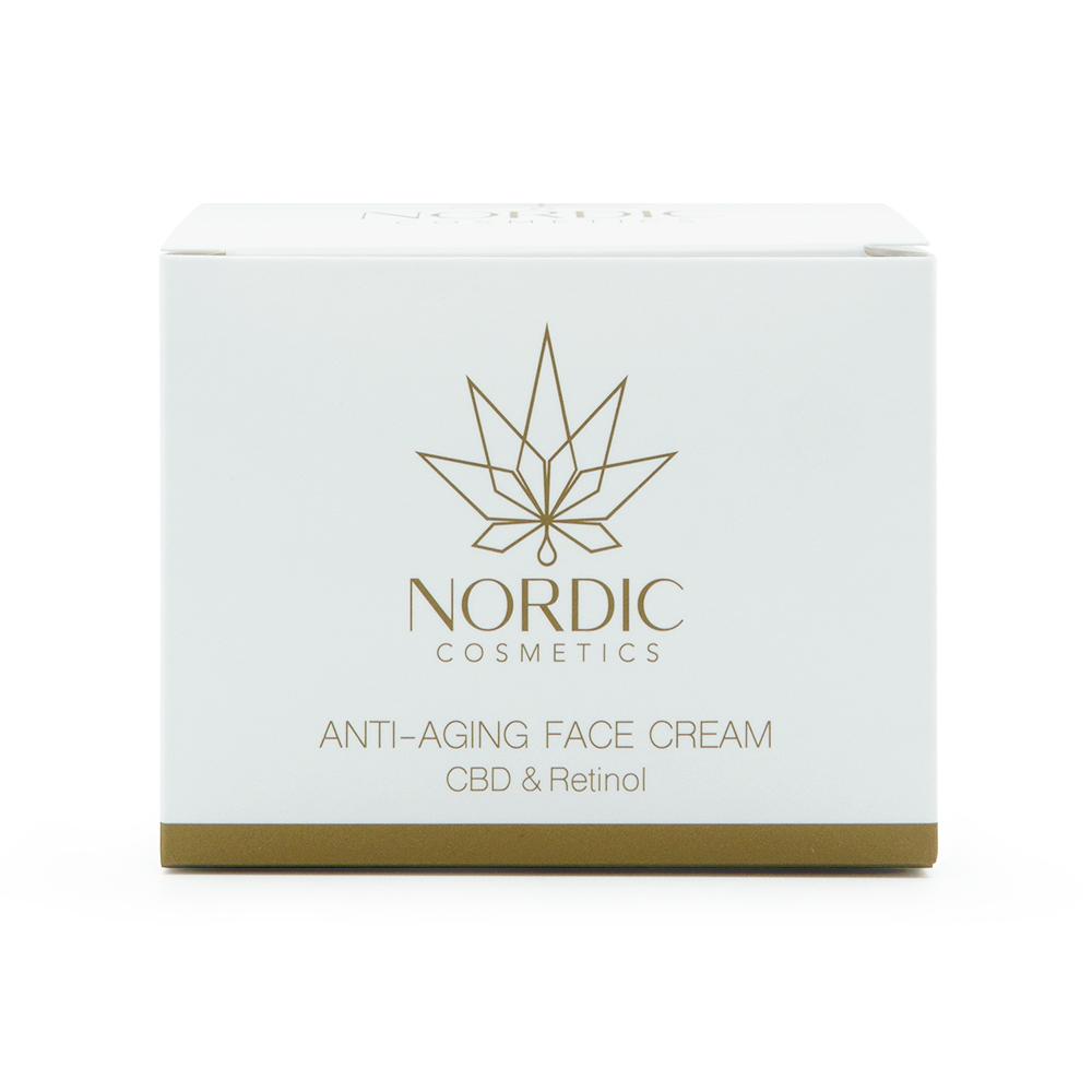 Anti-Aging Face Cream with CBD & Retinol