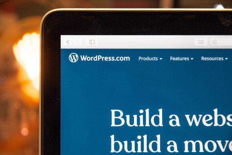 Ordenador y WordPress