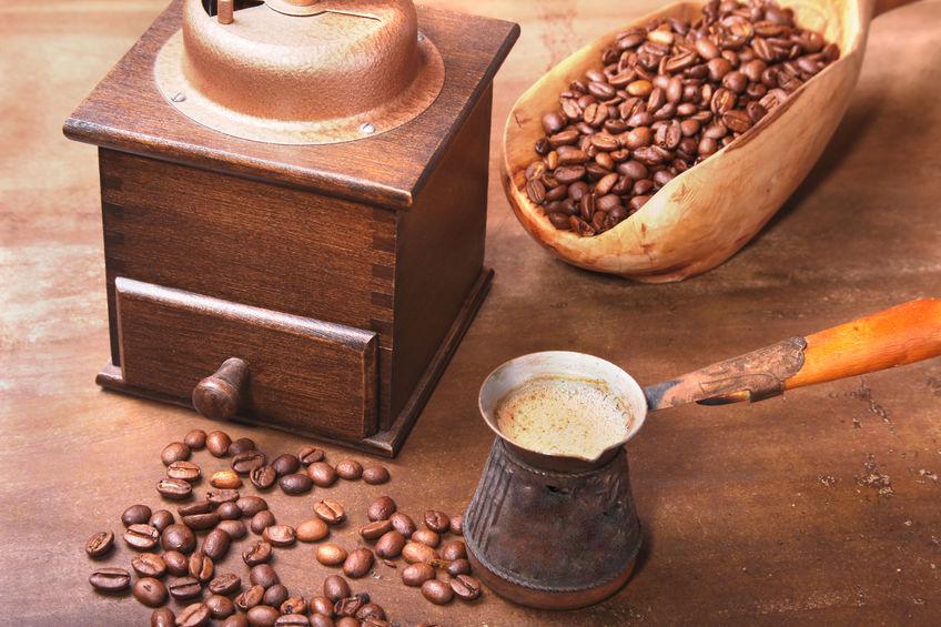Cucharon con café