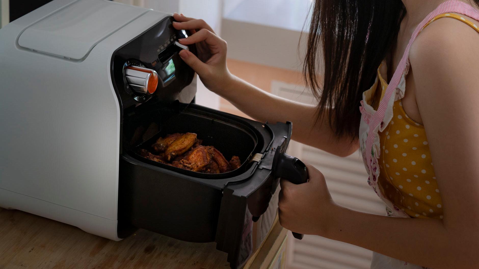 freidora compacta para hogar