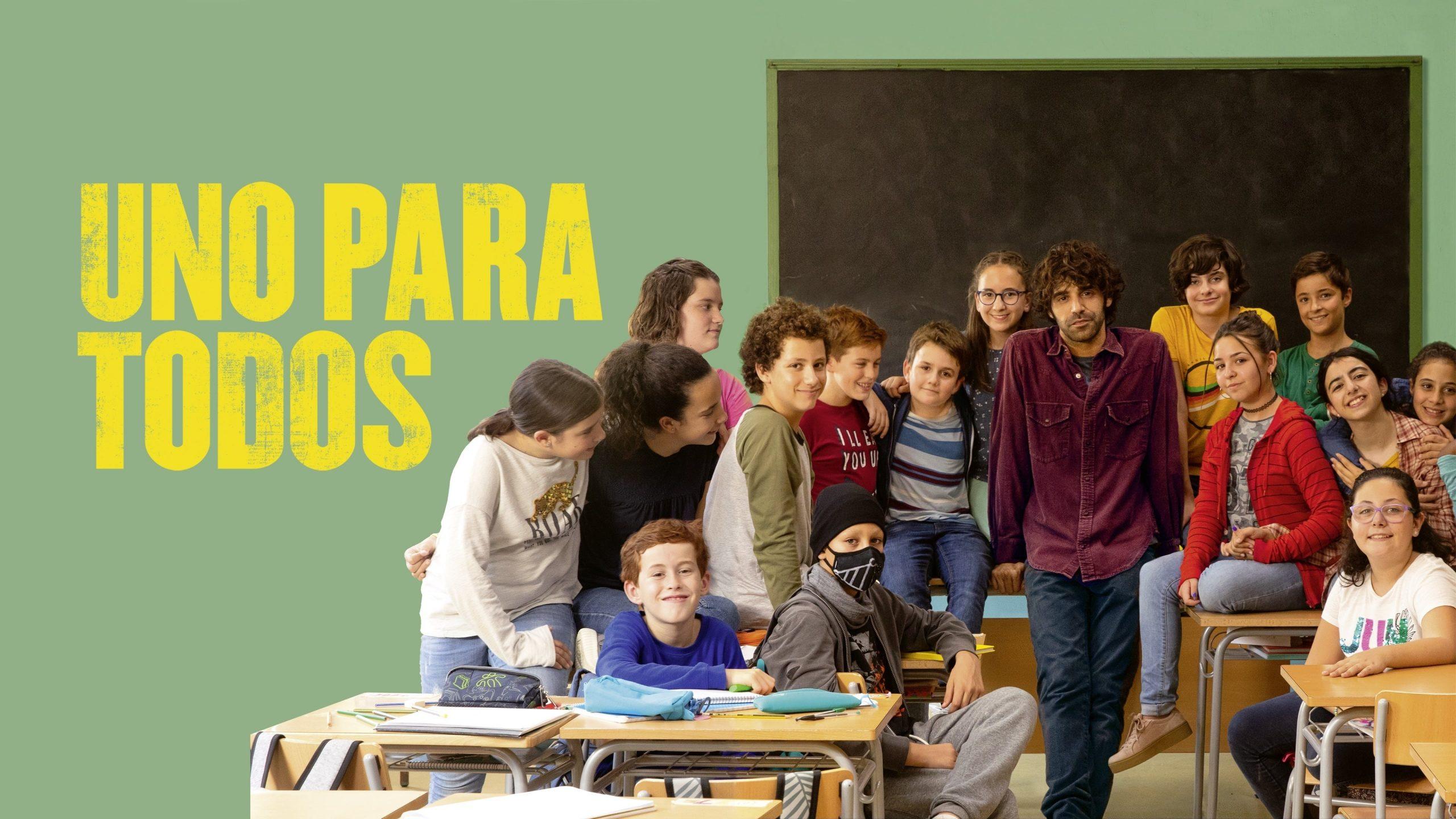 Un grupo de alumnos con su profesor